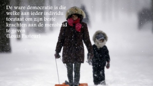 Quote Louis Pasteur over Democratie